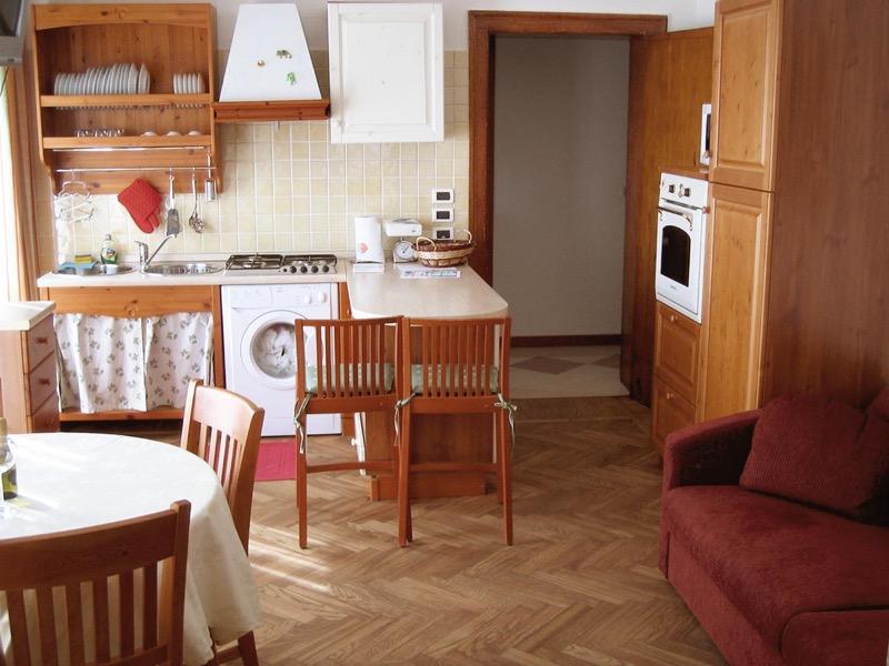 Suite sud cucina